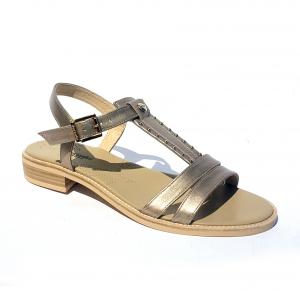 Sandalo flat cipria Nero Giardini