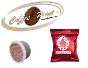 Capsula compatibile Lavazza espresso point Caffè Borbone Miscela Rossa 100 pezzi