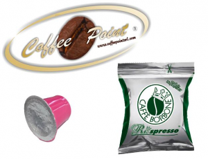 Capsula compatibile Nespresso Caffè Borbone Miscela Dek 100 pezzi