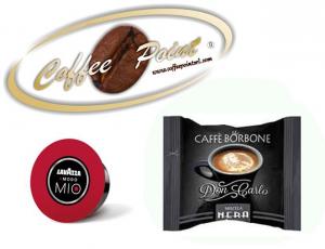 Capsula compatibile A Modo Mio Caffè Borbone Miscela Nera 100 pezzi
