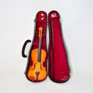 Violino In Miniatura In Legno