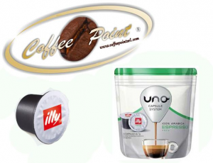 Capsule Uno System Illy Verde 16 pezzi