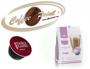 Capsula compatibile Nescafè Dolcegusto G Moka Caffè Latte 16pz