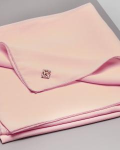 Stola color cipria in tessuto effetto chiffon di seta
