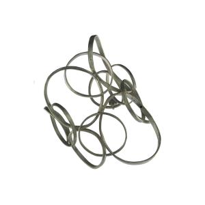 Bracciale schiava Circles in argento 925