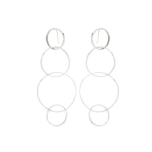 Orecchini cm. 10 in argento 925