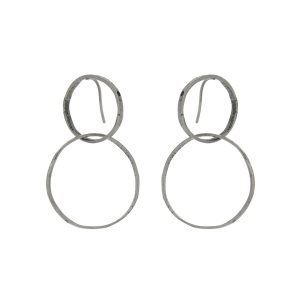 Earrings cm. 6 in 925 silver