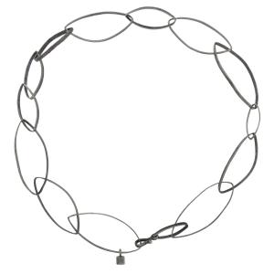 Catena corta Lulia in argento 925