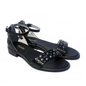 Sandalo flat nero Nero Giardini