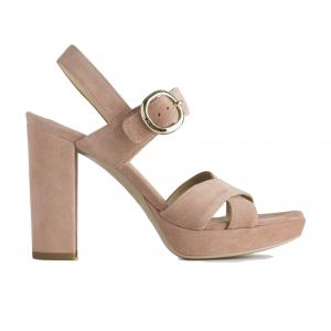 Sandalo incrociato phard Nero Giardini