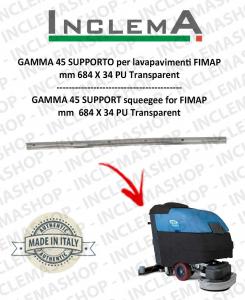 GAMMA 45 goma de secado soporte para fregadora FIMAP