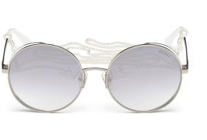 Guess - Occhiale da Sole Donna, Grey/Smoke Mirror GU 7606 20C C57