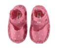 Scarpe rosa con pallini bianchi