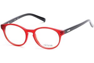 Guess - Occhiale da Vista Bambino, Matte Red/Black  GU 9160 067 C45