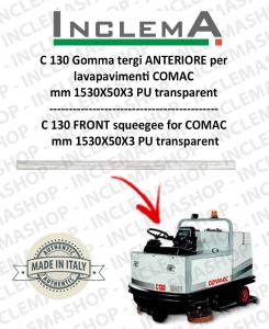 C 130 goma de secado delantera para fregadora COMAC