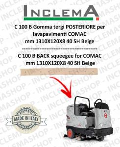 C 100 B goma de secado trasero para fregadora COMAC