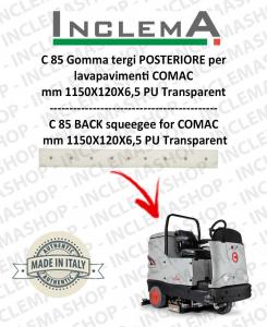 C 85 goma de secado trasero para fregadora COMAC
