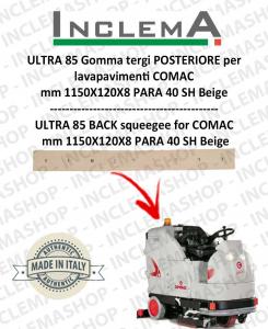 ULTRA 85 B/BS goma de secado trasero para fregadora COMAC