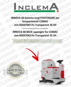 INNOVA 60 Hinten Sauglippen für Scheuersaugmaschinen COMAC