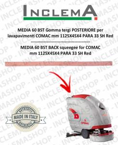 MEDIA 60 BST goma de secado trasero para fregadora COMAC