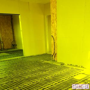 Impianto radiante per riscaldamento a pavimento : bioedilizia