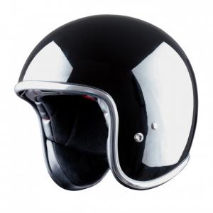 Casco jet Astone Helmets Vintage nero lucido