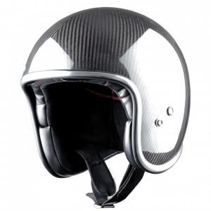 Casco jet Carbonio Astone Helmets Vintage nero