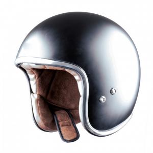 Casco jet Astone Helmets Vintage nero opaco