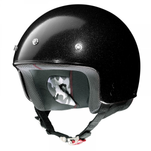 Casco demi-jet Grex G2.1 Club nero flake