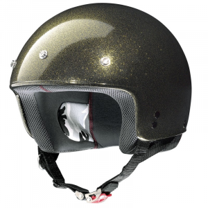 Casco demi-jet Grex G2.1 Club oro flake