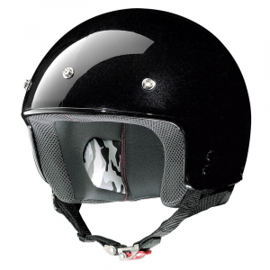 Casco demi-jet Grex G2.1 Club nero metal