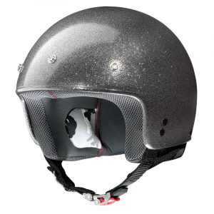 Casco demi-jet Grex G2.1 Club argento flake