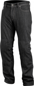 Pantaloni Denim Alpinestars Resist Tech neri