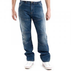 Jeans moto Overlap Imatra Smalt con Fibra Aramidica