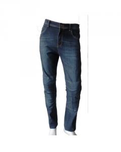 Jeans moto con Fibra Aramidica Giudici Street Denim Blue con protezioni
