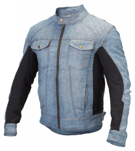 Giacca moto estiva jeans Hevik Tolosa