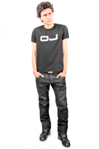 Jeans moto uomo OJ Muscle Man neri