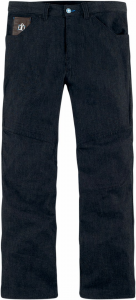Jeans moto Icon Hooligan Blu scuro
