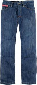 Jeans moto Icon Strongarm 2 Blu