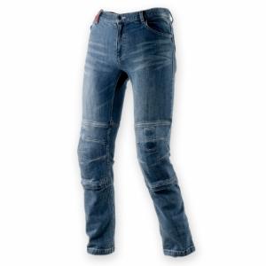 Jeans moto Clover SYS-2 con Fibra Aramidica Blu