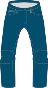 Jeans moto Dainese Kansas 1K Denim