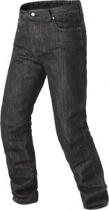 90cm Waist Nero, L=32 Uomo Moto Biker Jeans Pantaloni da Moto Impermeabili Rinforzato Protezione Includono Armature Motorcycle Pants