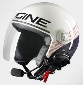 Casco jet Origine Pronto Jeans Bluetooth integrato