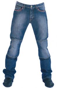 Jeans moto Texas con Fibra Aramidica colore medio