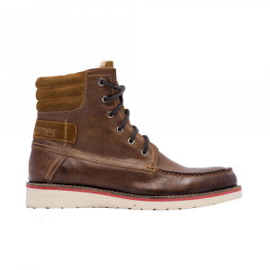 Scarpe moto pelle invernali West Coast Choppers Lined Workboot Cognac