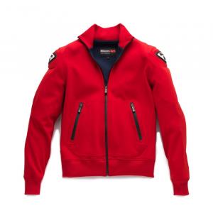 Uomo Location NERO SINTESI maglia giacca cerniera intera cotone