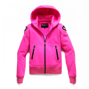 Giacca moto donna Blauer EASY WOMAN 1.1 in Softshell fucsia