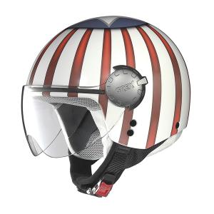 Casco jet Grex DJ1 City Helmetart Bianco USA
