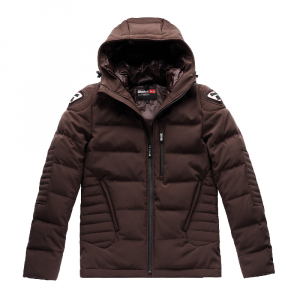 Giacca moto Blauer Easy Winter Man 1.0 marrone buffalo