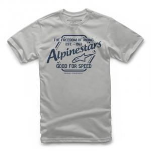 T-Shirt Alpinestars CRISPER TEE Argento